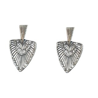 BATARI Statement Triangule Drop Earrings