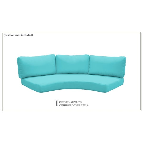 Covers for Low-Back Curved Armless Sofa Cushions 6 inches thick. Opens flyout.