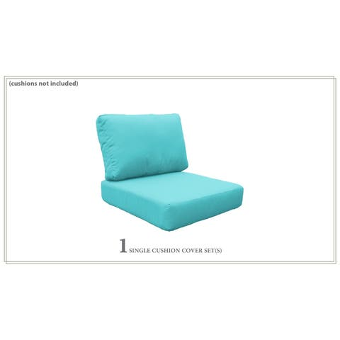 Covers for High-Back Chair Cushions 6 inches thick