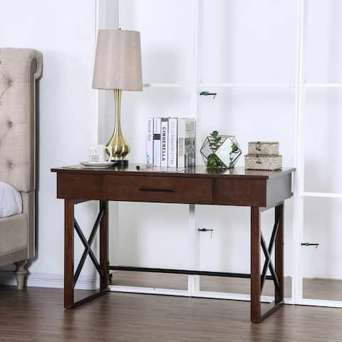 Carbon Loft Ponce Cherry Lift-Top Writing Desk