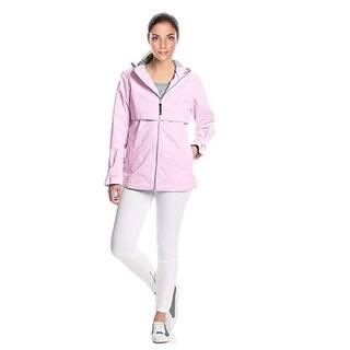 Charles River Women's Englander Rain Jacket Pink