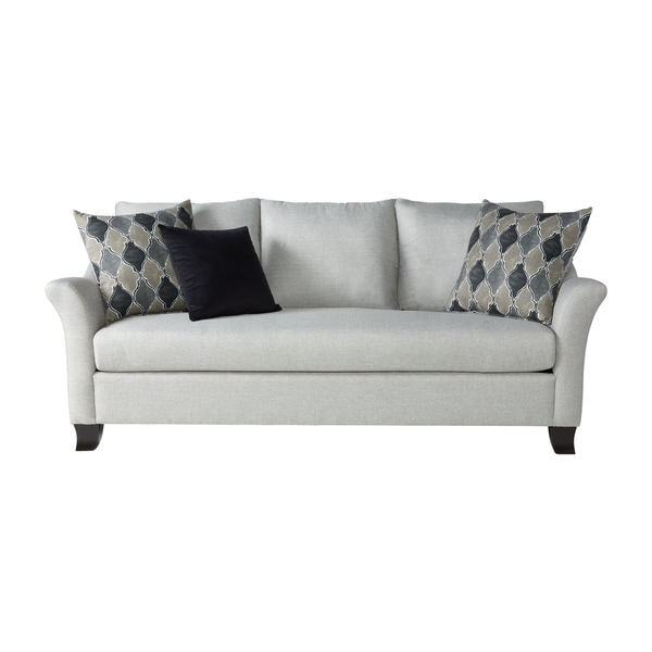 Shop Somette Traditional Sofa With Modern English Arms In