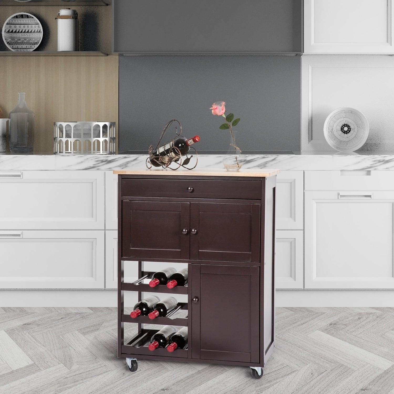 Best Kitchen Cabinet Deals: Buy Kitchen Carts Online At Overstock.com