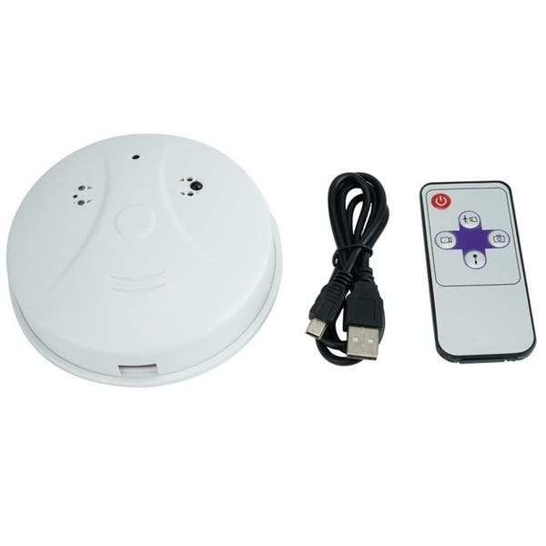 Shop Hidden Camera Smoke Detector Motion Detection Activated