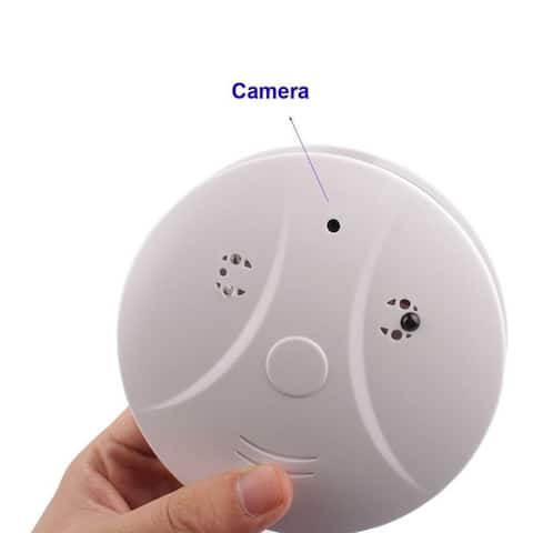 Hidden Camera Smoke Detector Motion Detection Activated Digital Video Recorder