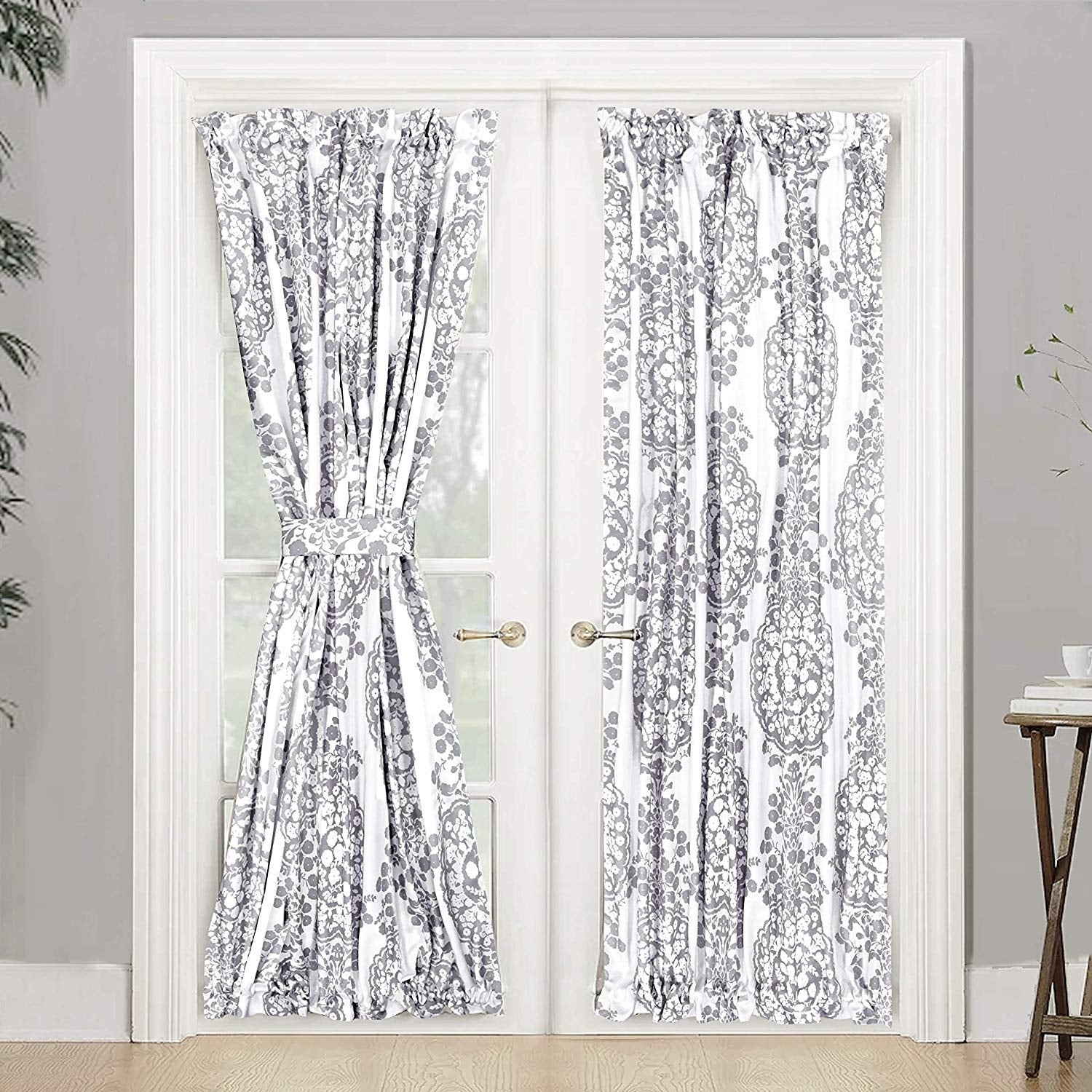 Image of: Shop Black Friday Deals On The Curated Nomad Alameda Room Darkening French Door Single Curtain Panel Overstock 25449058