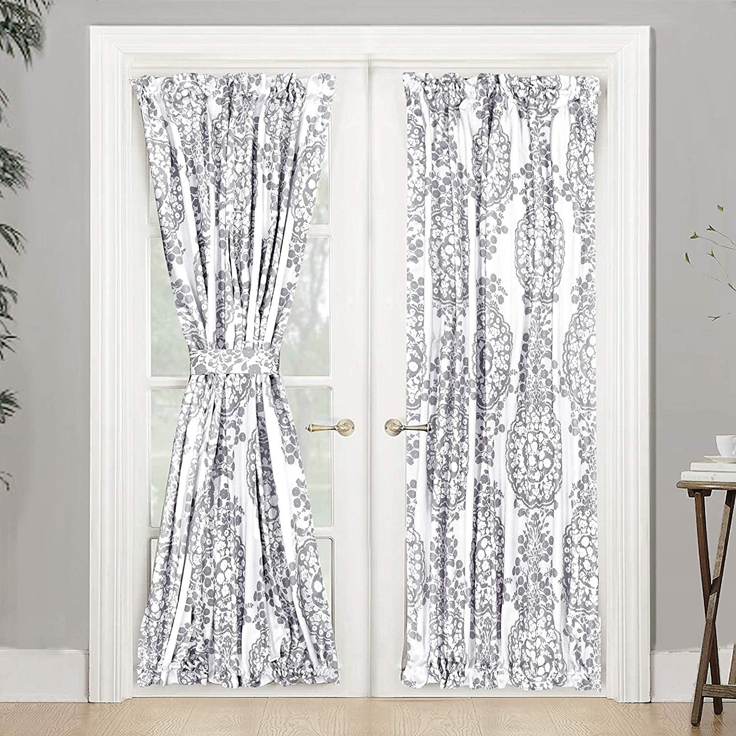 The Curated Nomad Alameda Room Darkening French Door Single Curtain Panel Overstock 25449058