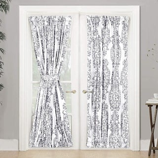 Link to The Curated Nomad Alameda Room Darkening French Door Single Curtain Panel Similar Items in Curtains & Drapes