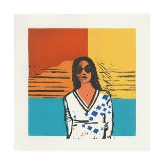 Avery Tillmon 'Camila Colorblock' Canvas Art