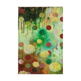 Heather Robinson 'Floating Jade Garden I' Canvas Art