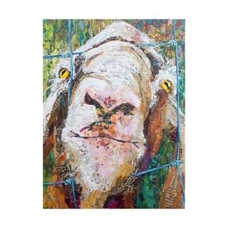 Elizabeth St. Hilaire 'Goodness Goat' Canvas Art