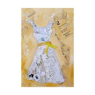 Elizabeth St. Hilaire 'Dress Whimsy Iii' Canvas Art