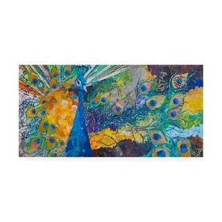 Elizabeth St. Hilaire 'Percy Peacock Ii' Canvas Art
