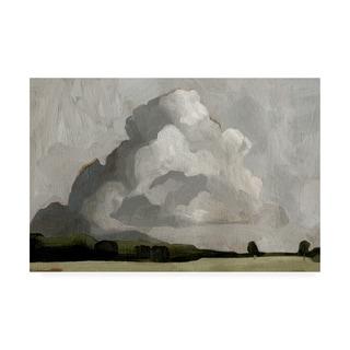 Emma Scarvey 'Cloudscape Ii' Canvas Art