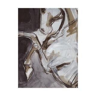 Jennifer Paxton Parker 'Horse Abstraction Iv' Canvas Art