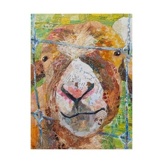 Elizabeth St. Hilaire 'Pokey Goat' Canvas Art