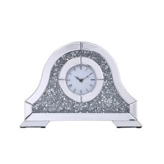 Crystal Analog Table Clock