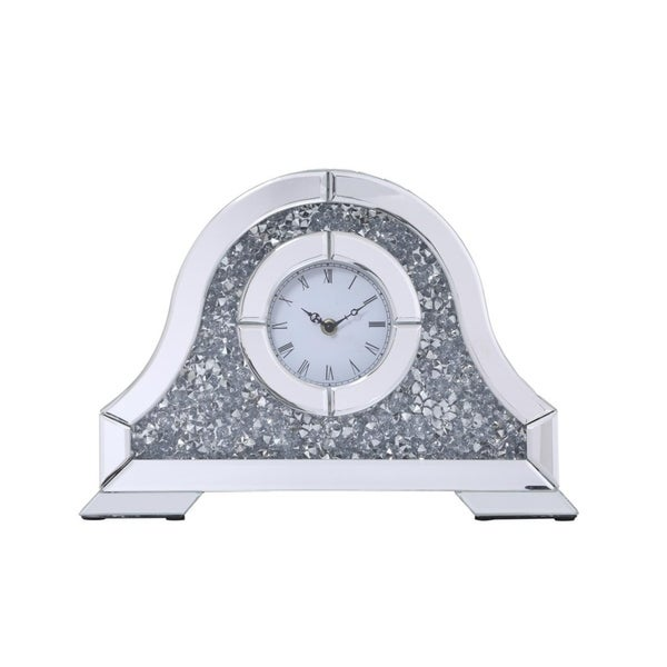 Crystal Analog Table Clock. Opens flyout.