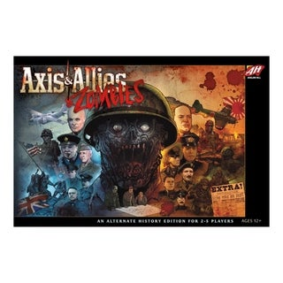 Wizards of the Coast Axis & Allies and Zombies Board Game