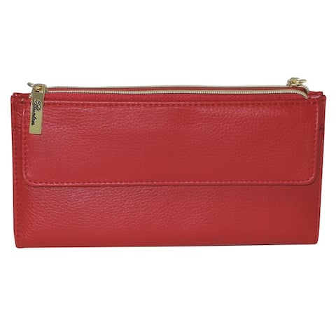 5727cb33907 Buy Red, Leather Women's Wallets Online at Overstock | Our Best ...