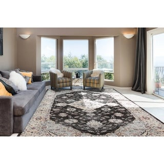 Astoria Loren Home Dark Brown Rug