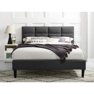 Serta Taylor Fabric Upholstered Queen-size Bed-in-a-Box