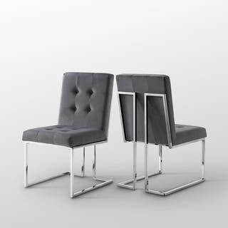 Buy Grey, Chrome Kitchen & Dining Room Chairs Online at ...