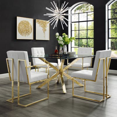 Tufted Kitchen Dining Room Chairs