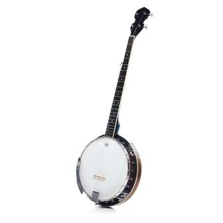 5 String Resonator Banjo with 24 Brackets