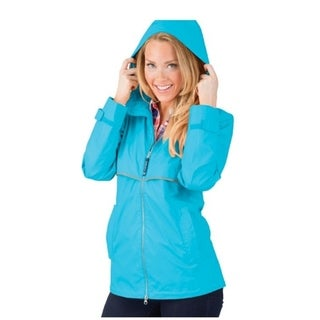 Charles River Women's Englander Rain Jacket Wave
