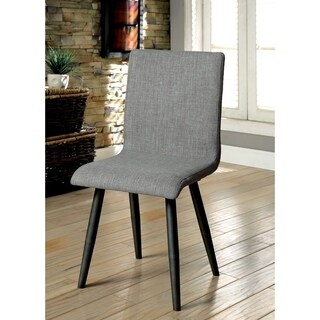 Vilhelm I Mid-century Modern Style Grey Finish Side Chair