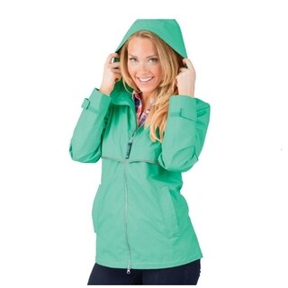Charles River Women's Englander Rain Jacket Mint
