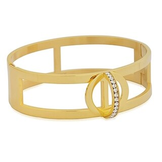 """Stainless Steel Polished Hypoallergenic Lead-free Round Bangle Bracelet for Women, 7"""""""
