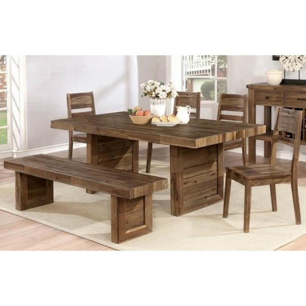 Eden Rectangle Varied Natural Dining Table