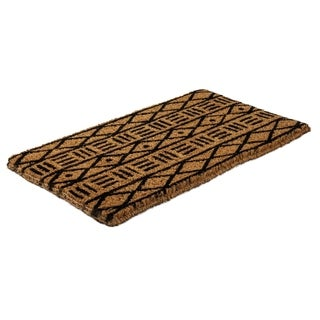 Mud Cloth Handwoven Coconut Fiber Doormat