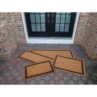 Link to With Border 18x30 Slip Resistant Coir Doormat Similar Items in Decorative Accessories