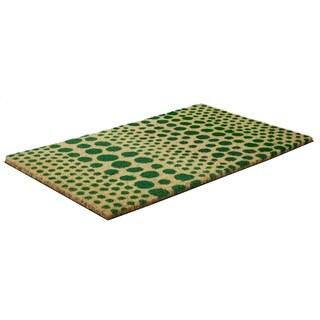 Confetti Slip Resistant Coir Doormat