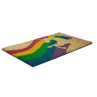 Unicorn Slip Resistant Coir Doormat