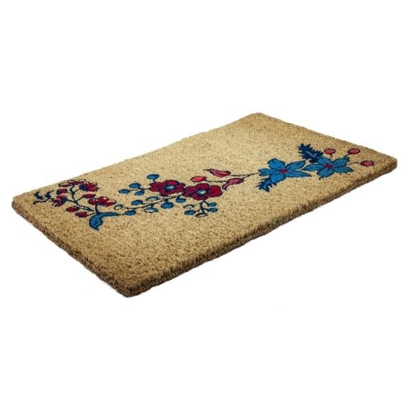 Williamsburg Garland Handwoven Coconut Fiber Doormat