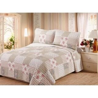 Tophia Cotton Shell Quilt Set