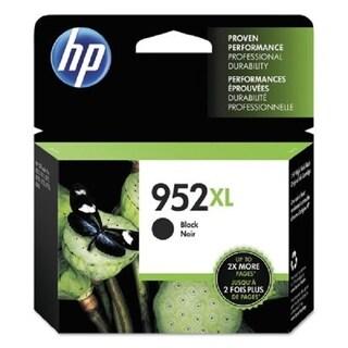 HP 952XL High Yield Black Ink Cartridge, F6U19AN