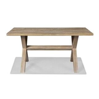 Grain Wood Furniture Montauk Trestle Table Solid Wood
