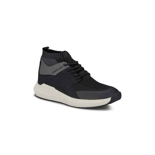 61b12b717 Shop Members Only Mens Knit Sock Fabric Mesh Fashion Sneaker - Free ...