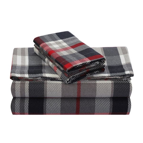 Luxury Cotton Flannel Sheets With 18 Deep Pocket Warm For Winter Cozy Lightweight Winter Bed Sheet Sets On Sale Overstock 25451845
