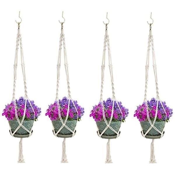 Elegant Plant Hanger Set of 4. Opens flyout.