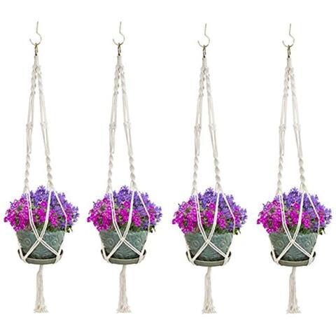 Elegant Plant Hanger Set of 4