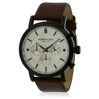 Kenneth Cole Leather Mens Watch KC50502001