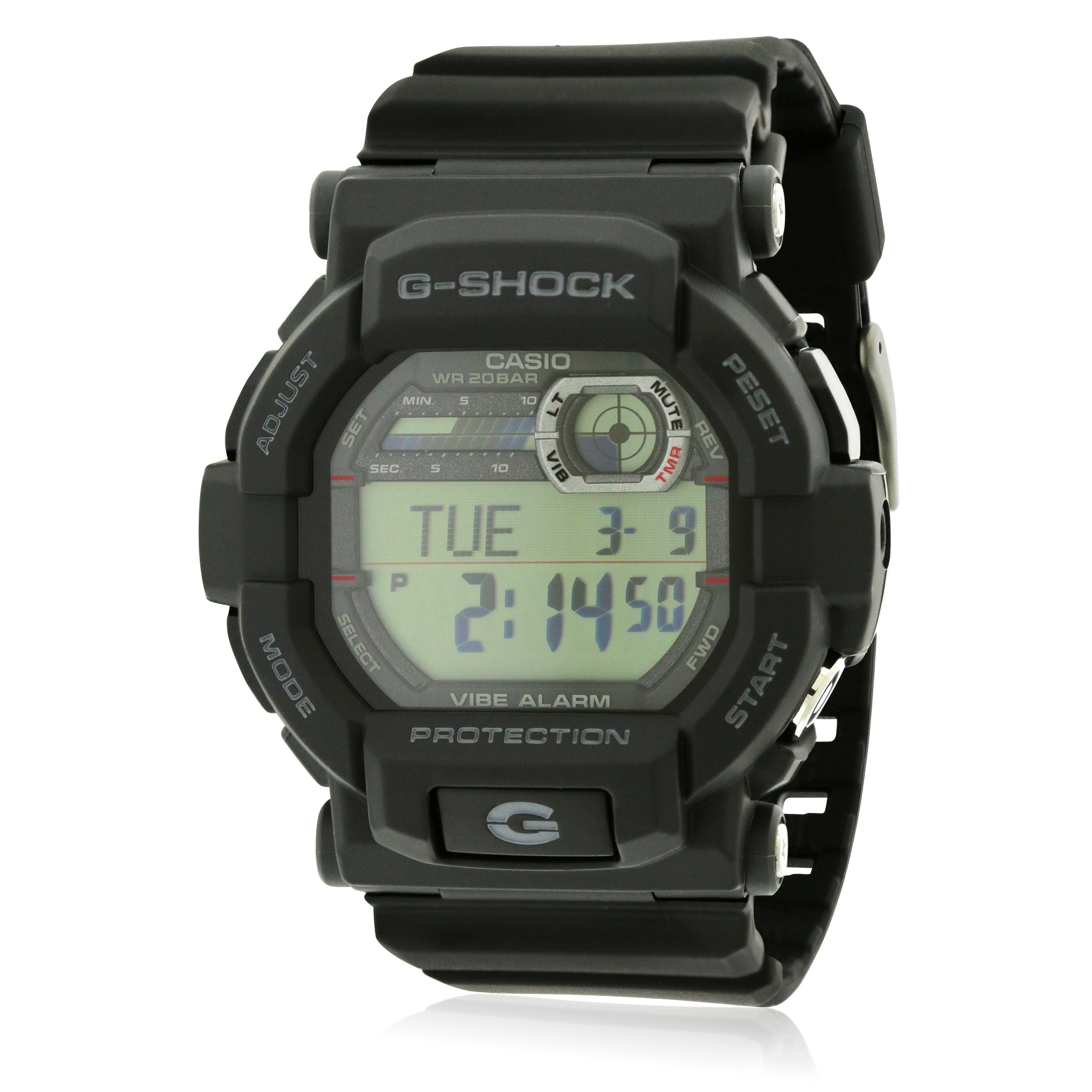 3180a2182 Shop Casio G-Shock Vibration Alarm Mens Watch GD350-1CR - Free Shipping  Today - Overstock - 25451956
