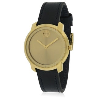 Movado Bold Leather Ladies Watch 3600474
