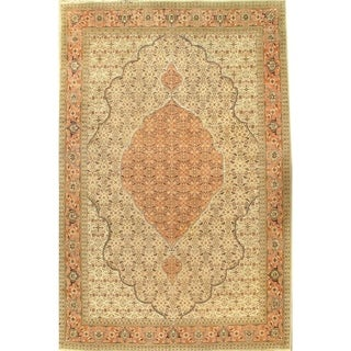 """Pasargad DC Antique Persian Tabriz Hand-Knotted Rug - 8'2"""" x 12'6"""" - 8'2"""" x 12'6"""""""